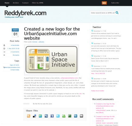 a brand new blogengine.net theme by Richard Reddy