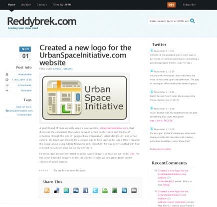 a brand new blogengine.net theme by Richard Reddy