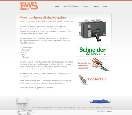 Estuary Wholesale Suppliers electrical equipment suppliers for trade and industry