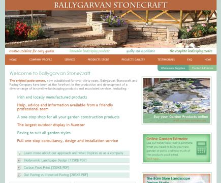 Ballygarvanstonecraft.ie launches new online store