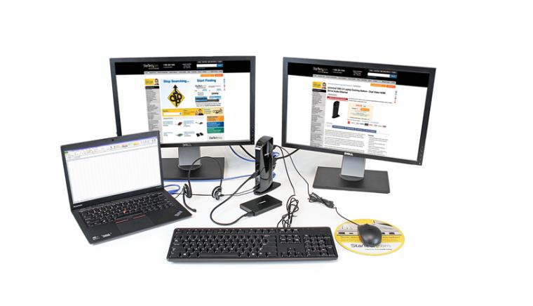 StarTech USB 3 Dual Monitor Dock USB3SDOCKHD