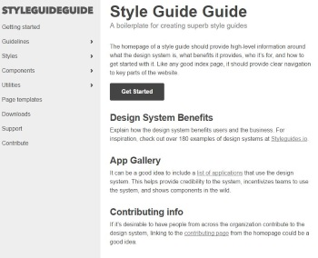 The Style Guide Guide