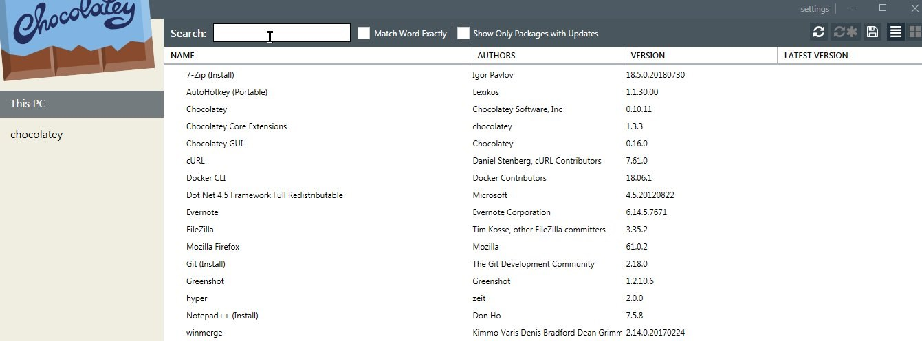 #FridayDevTip - auto update your Windows programs using Chocolatey