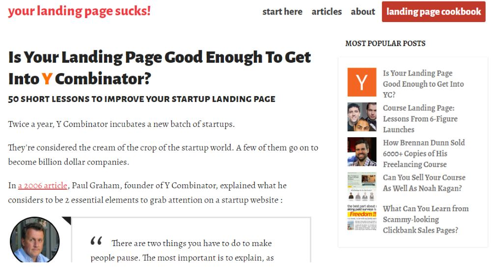 Tips to improve your next landing page site