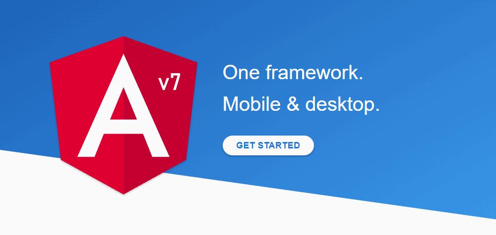 Angular v7 released