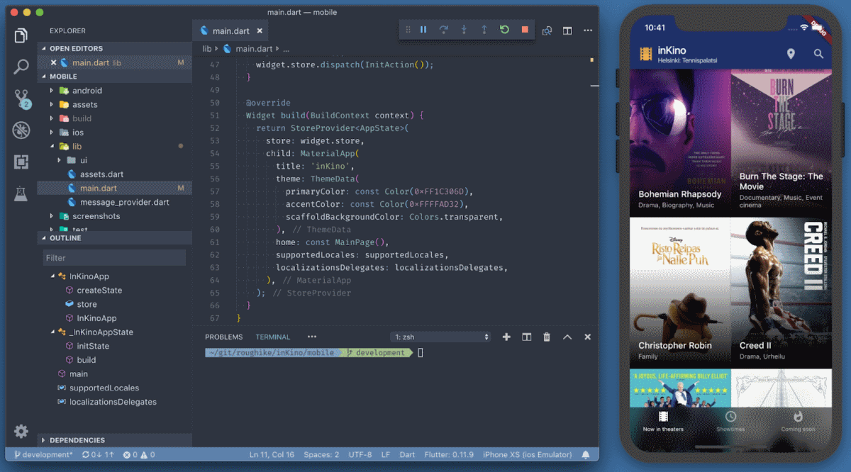 Flutter 1.0: Googles Portable UI Toolkit